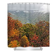 Cooper's Rock West Virginia Shower Curtain