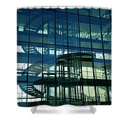 Copenhagen Architecture Denmark Shower Curtain