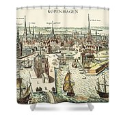 Copenhagen, C1700 Shower Curtain