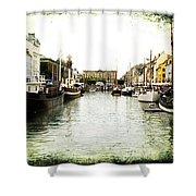 Copenhagen Denmark Shower Curtain