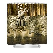 Copernicus - Wieliczka Salt Mine Shower Curtain