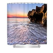 Coquillage Shower Curtain