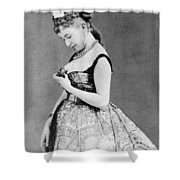 Cora Pearl (c1835-1886) Shower Curtain