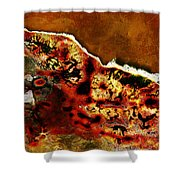 Coral 1  Shower Curtain