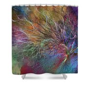 Coral Depths Shower Curtain