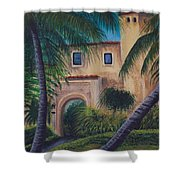 Coral Gables Shower Curtain