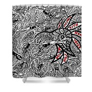 Coral Implodes With Human Touch...you Decide Shower Curtain