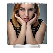 Coral1 Shower Curtain