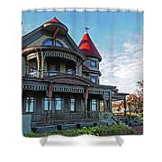 Corbin Norton House Marthas Vineyard Shower Curtain