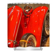 Cord Automobile  Shower Curtain