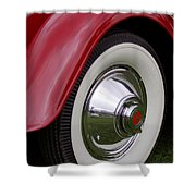 Cord Fender Shower Curtain