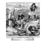 Corinth: Grave Robbers Shower Curtain