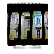 Corinthian Rainbow Shower Curtain
