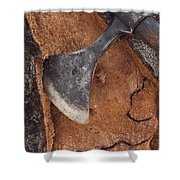 Cork Oak Quercus Suber Bark Shower Curtain