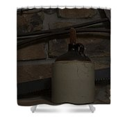 Corked White Lightning 13 Shower Curtain