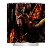 Corn Stalks Shower Curtain