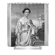 Cornelia (fl. 2nd Century Shower Curtain
