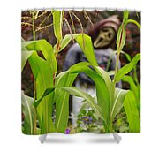 Cornstalks Shower Curtain