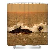 Corona Del Mar 4 Shower Curtain