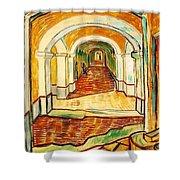 Corridor In The Asylum Shower Curtain