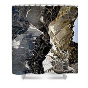 Corrosion By Nature Shower Curtain