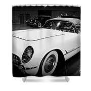 Corvette 55 Convertible Shower Curtain