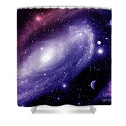 Cos 2 Shower Curtain