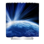 Cos 21 Shower Curtain