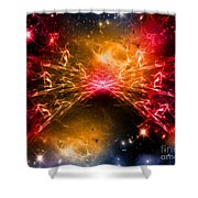 Cos 23 Shower Curtain