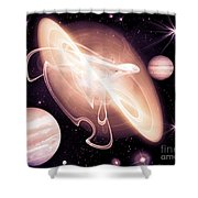 Cos 26 Shower Curtain