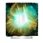 Cos 28 Shower Curtain