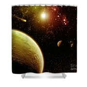 Cos 35 Shower Curtain