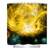 Cos 40 Shower Curtain