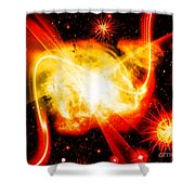 Cos 44 Shower Curtain