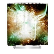 Cos 56 Shower Curtain