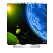 Cos 6 Shower Curtain