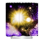 Cos 8 Shower Curtain
