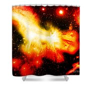 Cos 9 Shower Curtain