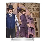 Cosets And Top Hats Shower Curtain