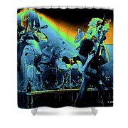 Cosmic Derringer Electrify Spokane 2 Shower Curtain