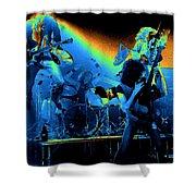 Cosmic Derringer Electrify Spokane Shower Curtain