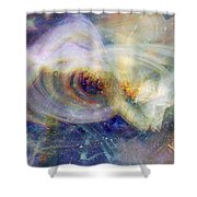 Cosmic Dust Shower Curtain
