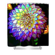 Cosmic Natural Beauty Shower Curtain
