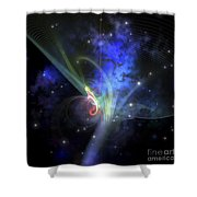 Cosmic Strands Of Gaseous Filament Shower Curtain