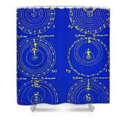 Cosmological Models Shower Curtain by Science Source