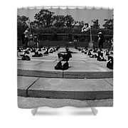 Cost Of War Shower Curtain