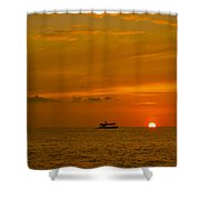 Costa Rica Sunset Shower Curtain