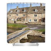 Cotswold Village Of Lower Slaughter Shower Curtain