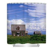 Cottage At Bay Of Chaleur Shower Curtain