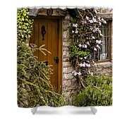 Cottage At Castle Combe Shower Curtain